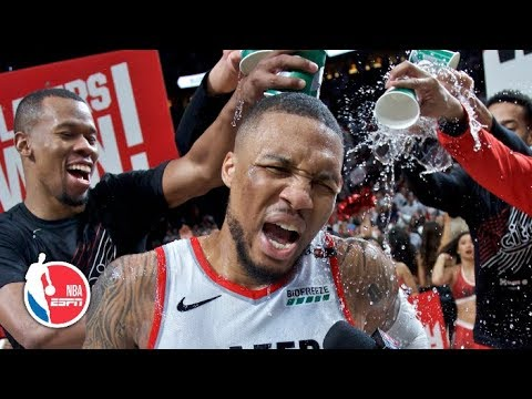 Damian Lillard Hits 37-foot Game 5 Winner | Trail Blazers Vs. Thunder | 2019 NBA Playoff Highlights