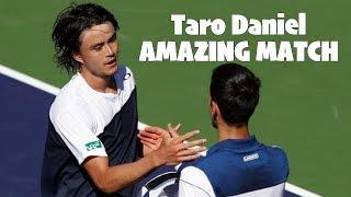 【テニス】【伝説】衝撃の大金星…!ダニエル太郎vsノバク・ジョコビッチ!【神業】Taro Daniel vs Novak Djokovic BNP Paribas Open 2R