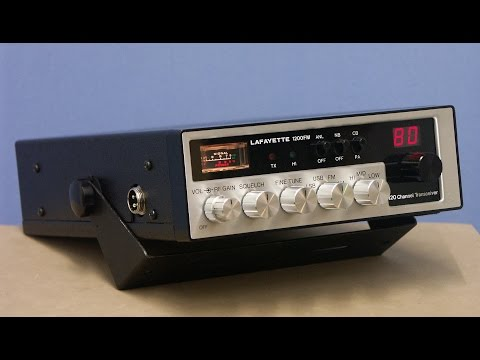LAFAYETTE 1200FM, AM/FM/SSB CB (HAM) radio