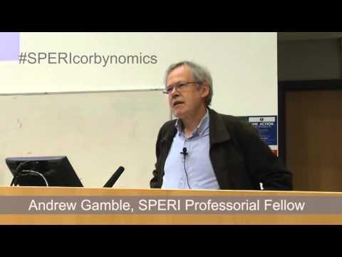 SPERI Corbynomics event with Professor Andrew Gamble