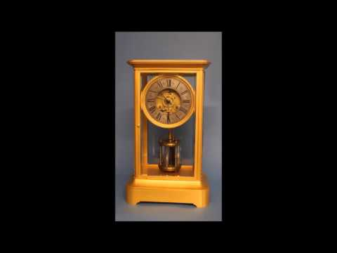 c.1875 Guilmet Torsion Mystery Clock