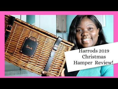 Harrods 2019 Christmas Hamper Unboxing
