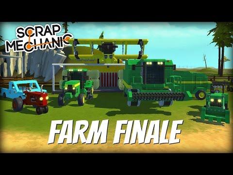 Scrap Mechanic Town- EP 148- Finishing the Farm (World Download)