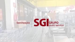 Sanitização Supermercados