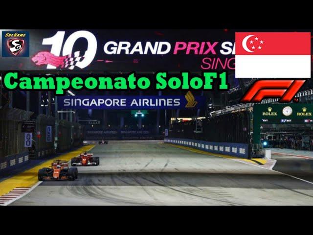 🔴 F1 2019 - Retrasmisión SOLOF1 // Gp Singapur 15-21