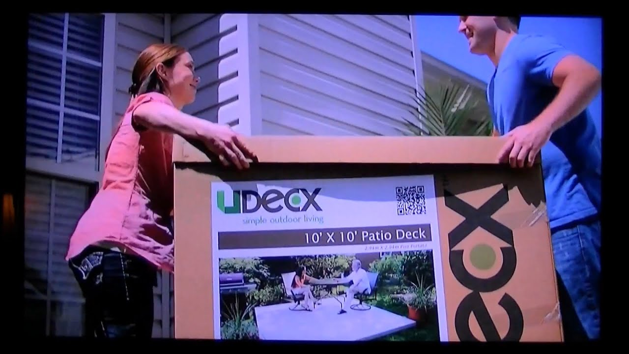 discover the udecx difference the patio deck in a box