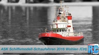BEST OF RC SCALE MODEL BOATS - ASK SHOW 2016 - WOHLEN, SWITZERLAND