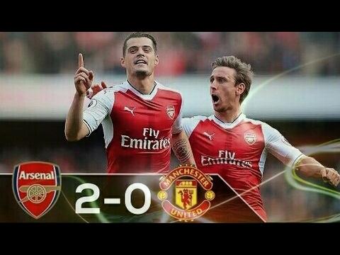 Hasil Pertandingan Arsenal vs Manchester united 2-0 (Premier League 07/05/2017)