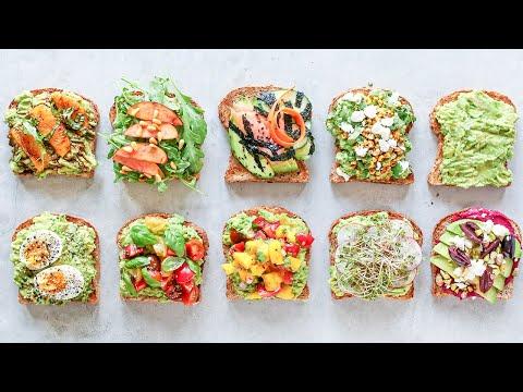 How to Make Avocado Toast 10 WAYS! Healthy Food Videos