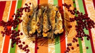 Жареная рыба по-карельски