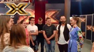 Юлия Санина помогла распеться участникам кастинга шоу Х-фактор