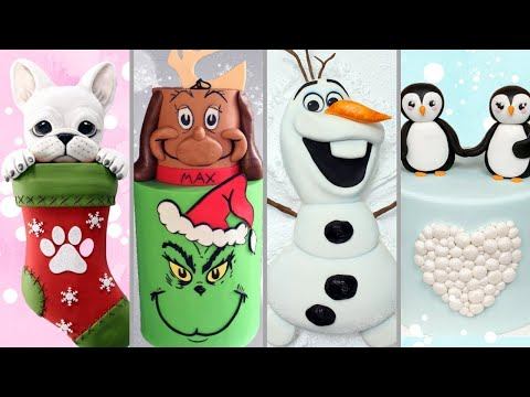 more-amazing-holiday-cakes-compilation!-christmas-cakes