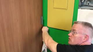 How To Install Wallpaper In a Tight Space - Spencer Colgan