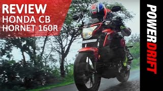 Honda CB Hornet 160R : Review : PowerDrift
