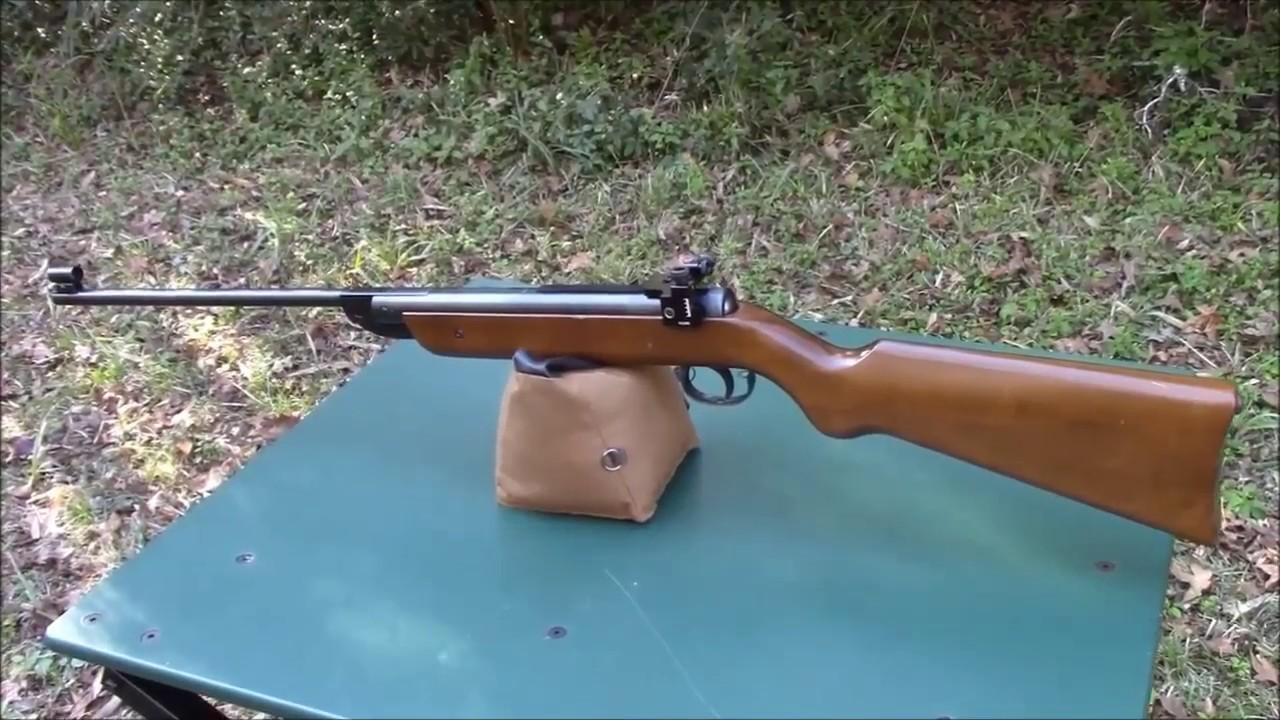 Winchester / Diana 25 Review - YouTube