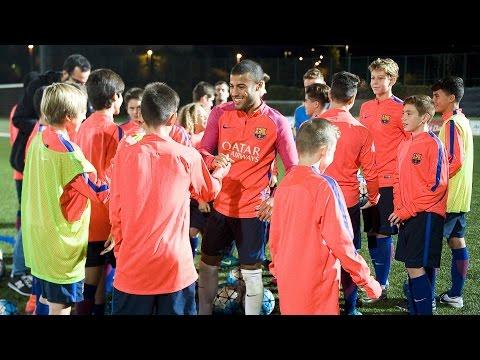 FCB U14: A masterclass with Rafinha