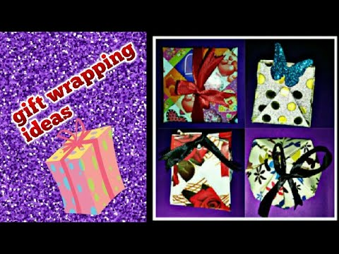 Gift wrapping ideas /stylish gift wrapping /DIY/ beautiful gift boxes (mrin art)