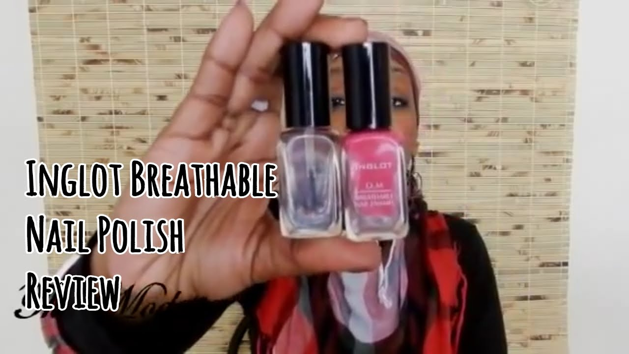 Inglot Breathable Nail Polish Review - The Modesta - YouTube