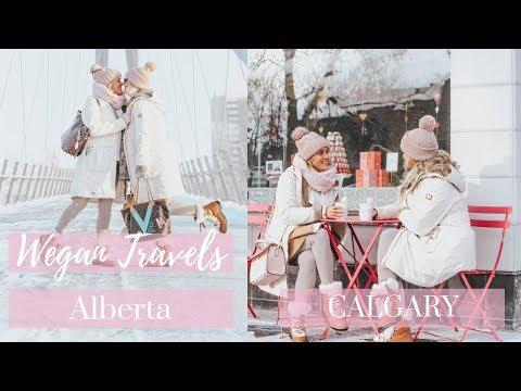 Wegan Travels Alberta, Canada | CALGARY | Lesbian Couple | VLOG