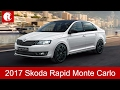 2017 Skoda Rapid Monte Carlo Special Edition Launch in Coming Months