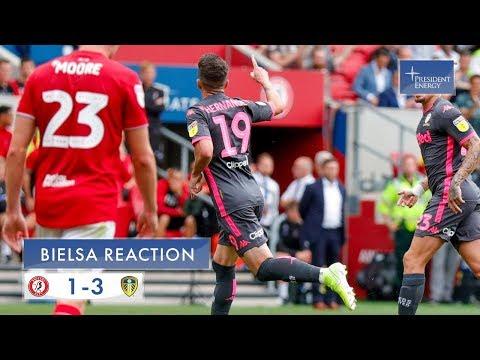 Marcelo Bielsa reaction   Bristol City 1-3 Leeds United   EFL Championship