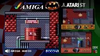 Batman: The Movie (1989) | Amiga vs. Atari ST vs. PC MS DOS | Triple Longplay