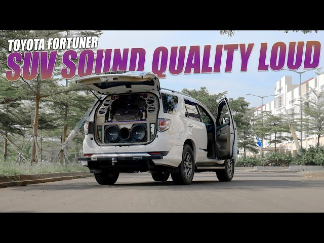 Toyota Fortuner Sound Quality Loud Venom Car Audio by Styling Variasi