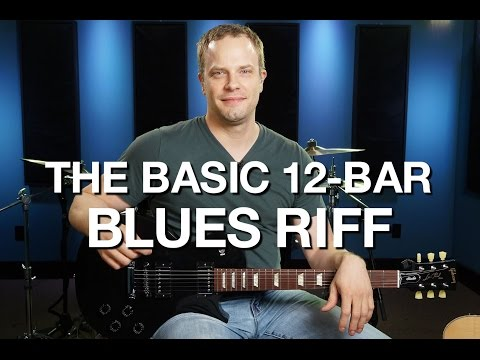 The Basic 12 Bar Blues Riff - Blues Guitar Lesson #4