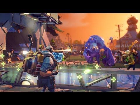 Fortnite — Xbox One Gameplay