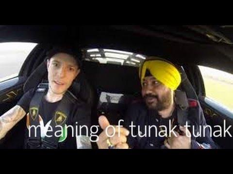 Deadmau5 and Daler Mehndi explaining Tunak Tunak Tun