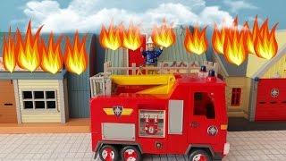 New Fireman Sam Great Fire Of Pontypandy ! Feuerwehrmann Sam TV Show