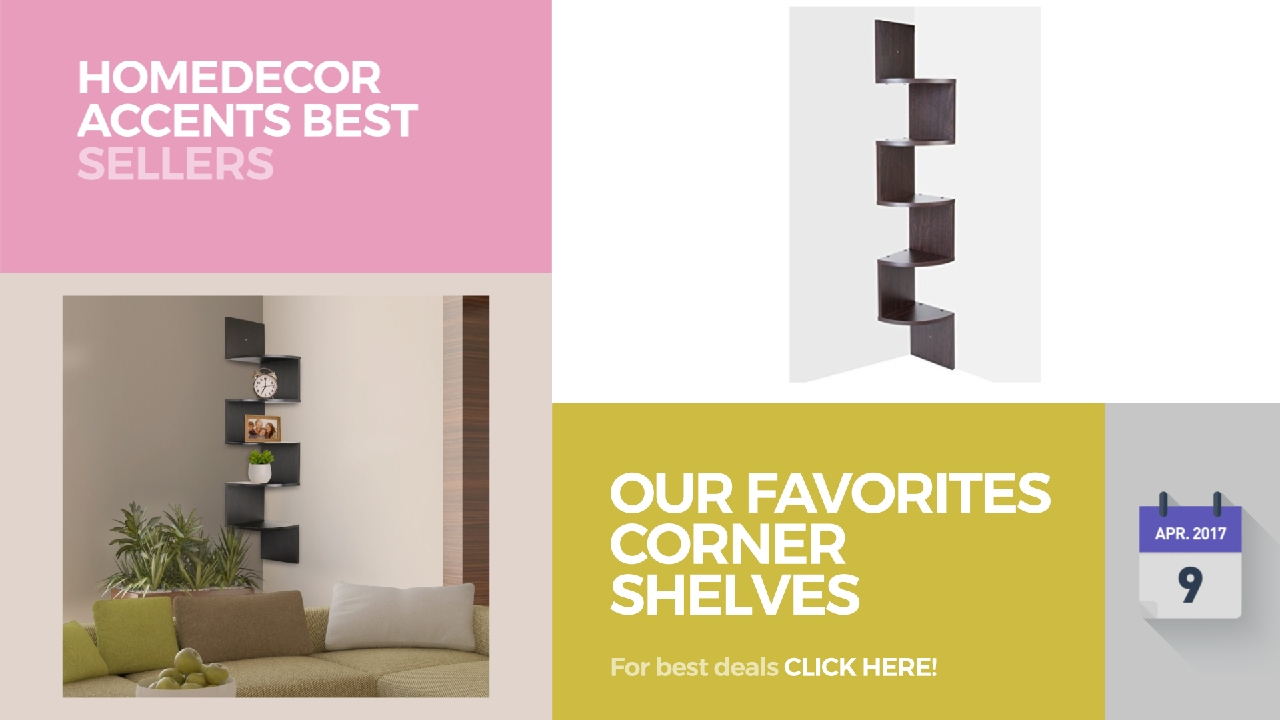 Our Favorites Corner Shelves Collection Homedecor Accents Best ...