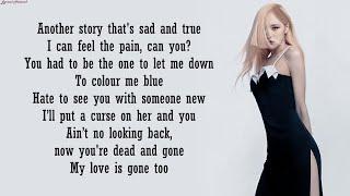ROSÉ - Gone (Acoustic Version) | Lyrics