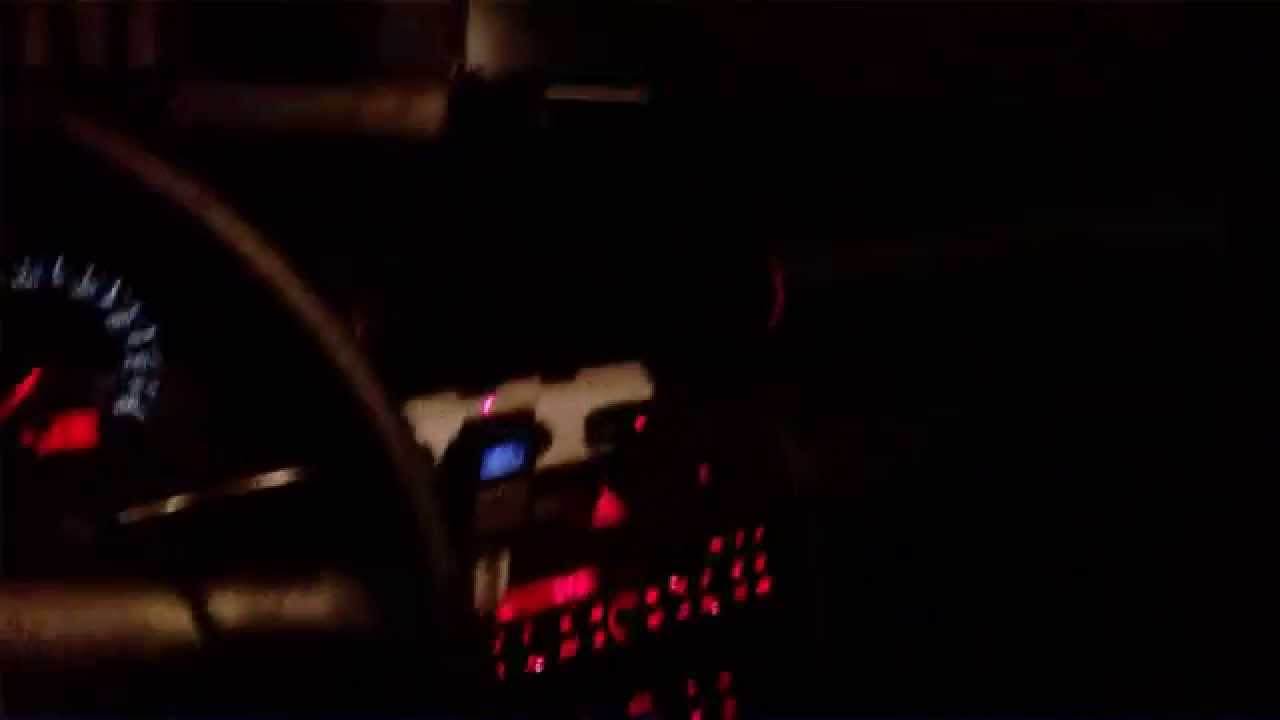 Audi A4 B5 Interieur Audi A4 B5 Night Interior And Sound