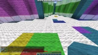 Minecraft SkyWars & ColorShufle !\:GOTOVI STE GUBITNICI!
