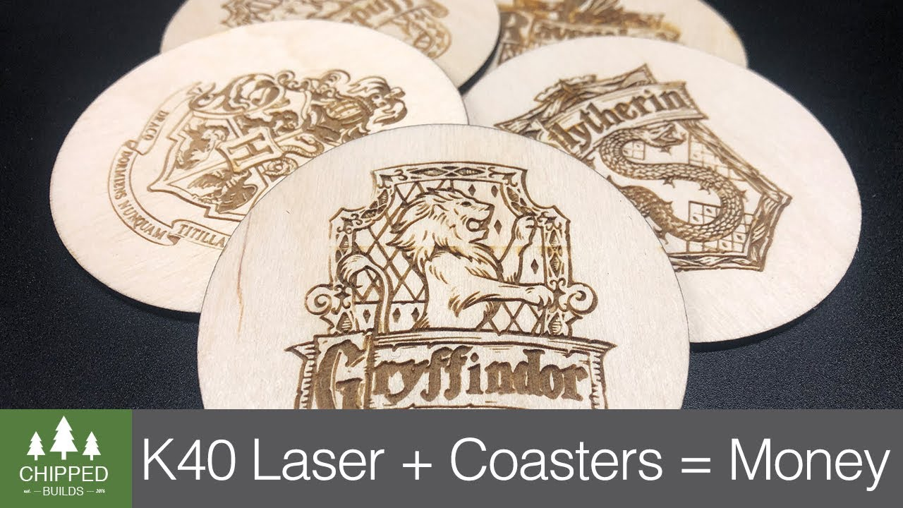 K40 Laser cutter - more upgrades by Paul Compton