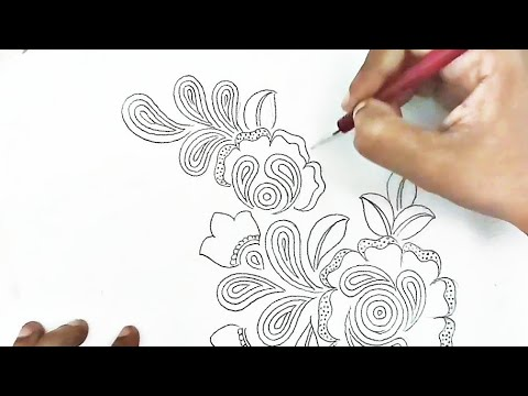 flower-design-drawing,drawing-flowers-with-pencil,embroidery-flowers-designs