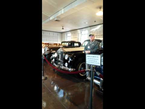 Nemours Mansion and Garden Tour of Cars