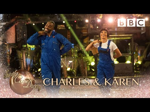Charles Venn & Karen Clifton Charleston to 'No Diggity' by Minimatic - BBC Strictly 2018