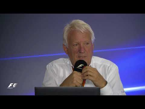 FIA F1 Press Conference - Charlie Whiting – 27.10.17