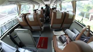 (Edisi siang hari) Interior Mewah Bus Pandawa 87 Jetbus HD 2 Scania K360 [Ardha Adi Channel]