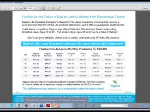 SilverSide Insurance Marketing Webinar: Sagicor 10/15/20 Term E-Application Process