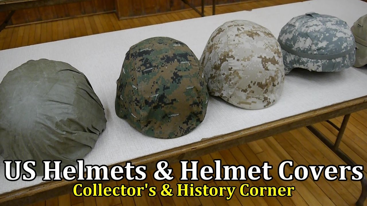 US Helmets and Covers from WW2 to Present Day | Collector's & History Corner