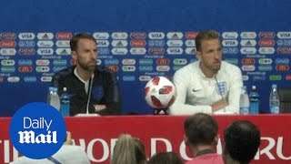 Gareth Southgate and Harry Kane look ahead to quarter-finals