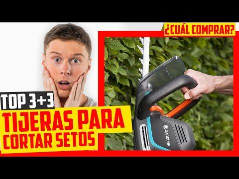 ⛺ Mejor TIJERA CORTASETOS Eléctrica de Gardena | ▶Amazon 2020◀ | + Extras Black + Decker y Bosch
