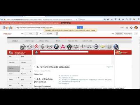 Manual de taller del Daewoo tico en español gratis online