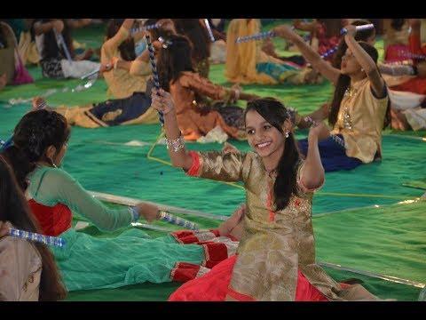 Ganpati Aayo Bapa Riddhi Siddhi Layo | Dandiya | Shekhawati School