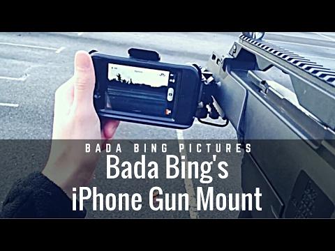 Bada Bing's iPhone Gun Mount Tutorial
