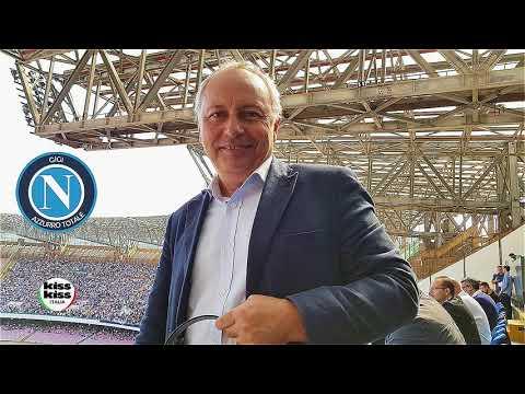 Cagliari-Napoli 0-5 Radiocronaca di Carmine Martino su Radio KissKiss Italia