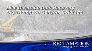 Dille Diversion Dam Bridge Placement